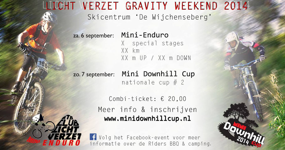 Licht Verzet GRAVITY WEEKEND