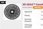 "SRAM X01 ""Eagle"" 12 speed of SRAM HoaX01?"
