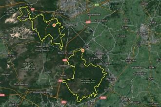Extra lus verbindt twee routes op de Veluwe!