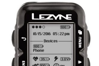 'Lezyne Year 10' GPS fietscomputers