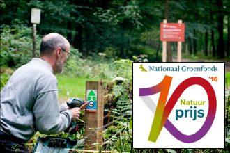 MTB Utrechtse Heuvelrug dingt mee naar Natuurprijs 2016