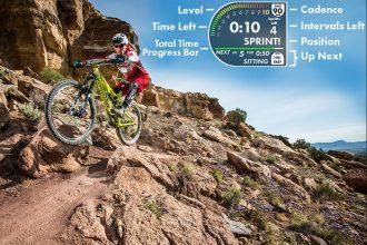 Spintertainment: indoor mountainbiken