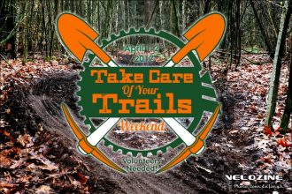1 en 2 April: 'Take Care of Your Trails', in competitieverband!