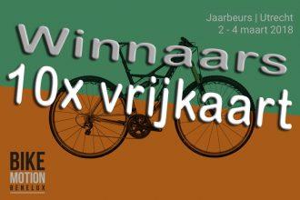 10x vrijkaarten voor de BikeMOTION - Winnaars bekend!