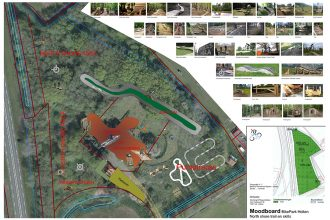 In ontwikkeling: Bike park Salland-Twente te Holten