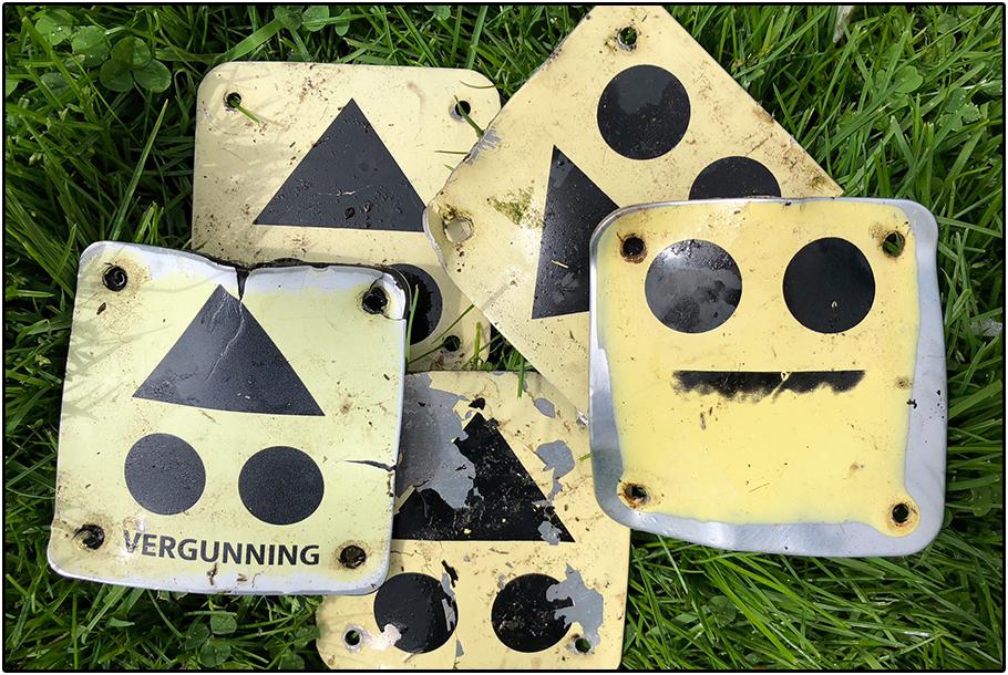 Routebordjes op de mountainbikeroute Renkum, Arnhem en Schaarsbergen worden binnenkort geplaatst