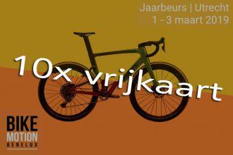 10x vrijkaarten voor de BikeMOTION te winnen!