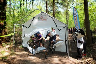 Kinder MTB route Ede geopend