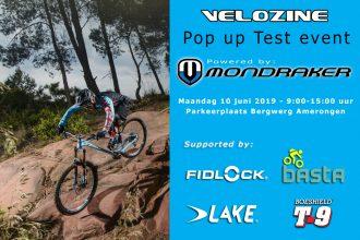 Maandag 10 juni: Pop-up Testevent op Amerongse Berg!