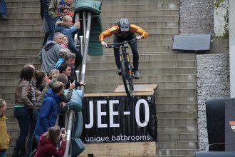 City Downhill Nijmegen: winst voor Botteram en Smulders