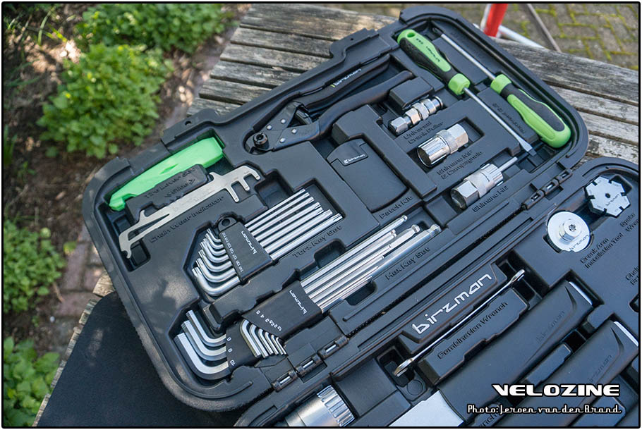 Birzman Travel Box - inclusief alle benodigde inbus- en torx sleutels