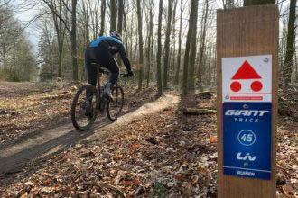 Mountainbikeroute Ruinen wordt een Giant Track
