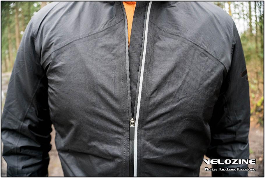 H2O Jacket: rits afgedicht