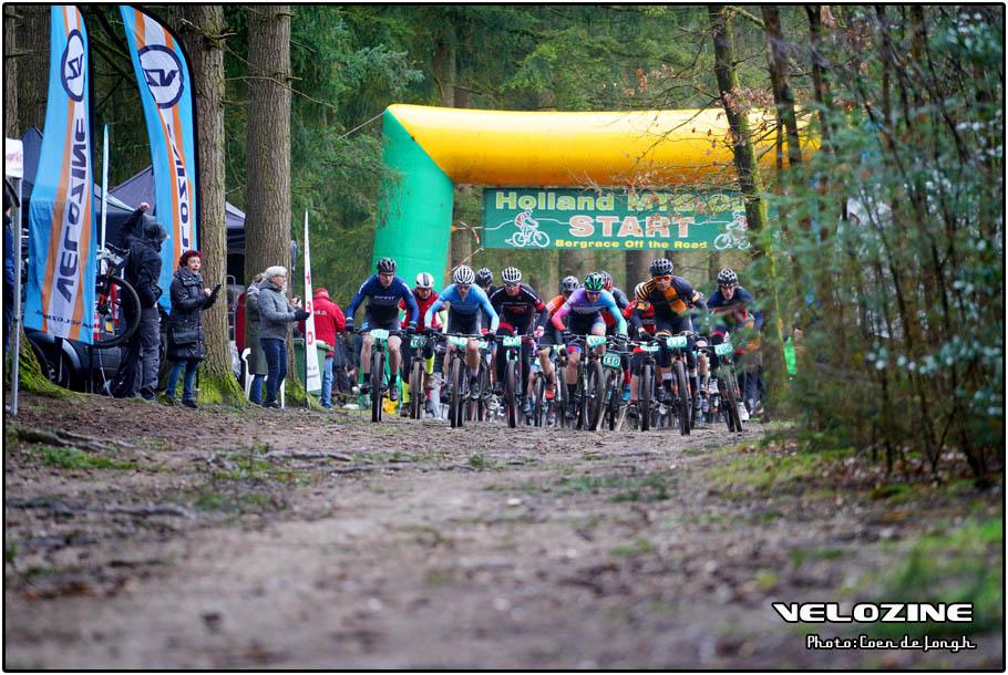 Bergrace Wageningen - Start 75 minuten