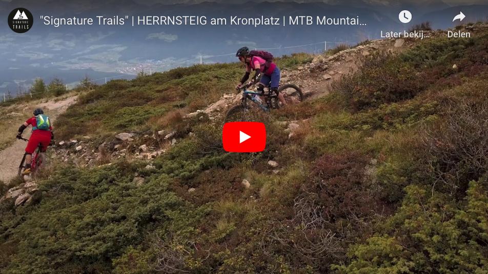 Signature Trails Kronplatz Herrensteig trail video