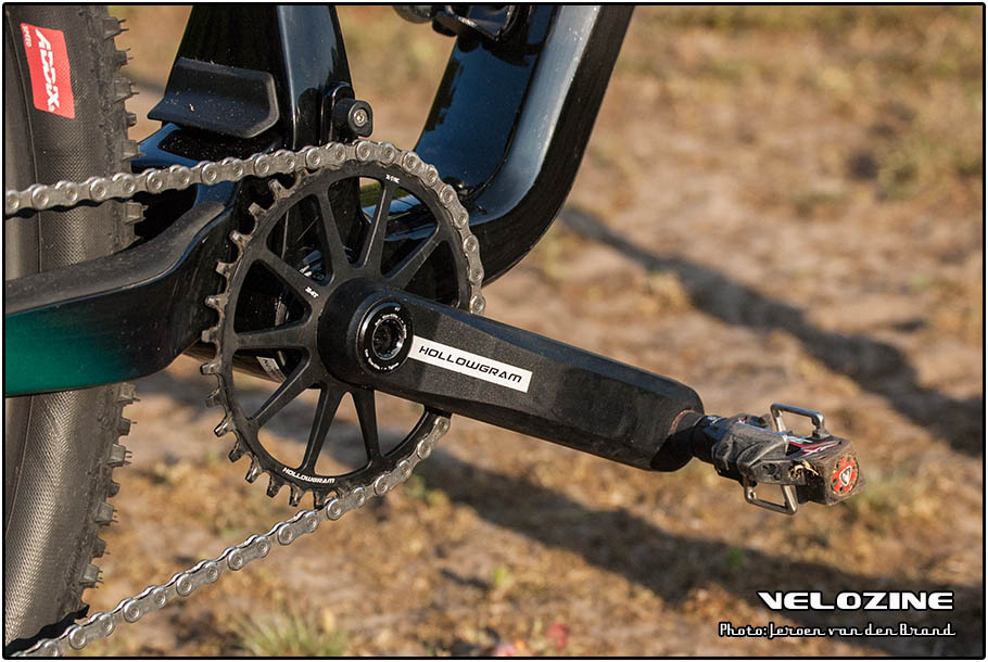 Hollowgram crankset