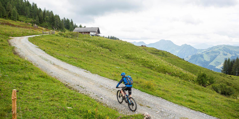 Toeren in de Alpen: de Cube is hier goed thuis.