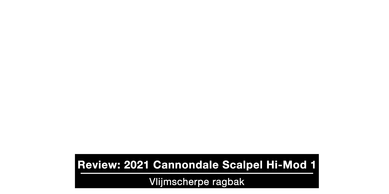 Test Cannondale Scalpel Hi-Mod 1 2021