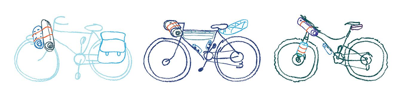 Bikepacking beginners fietsvakantie