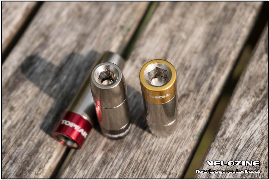 Magneetjes aan de binnenzijden