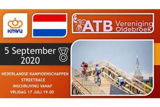 NK Streetrace zaterdag 5 september - Inschrijven vanaf 17 juli
