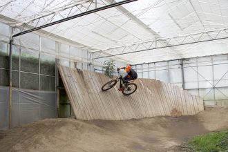Gereden: Bikepark Indoor Mountainbike Almere