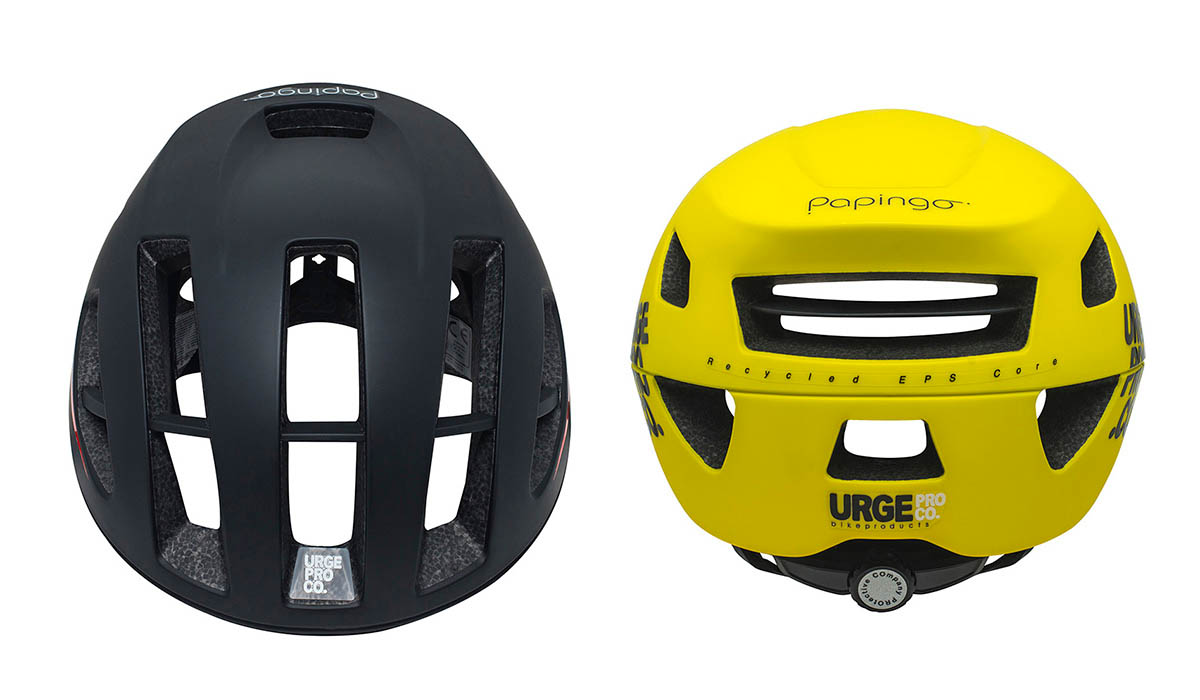 Papigno black yellow front rear