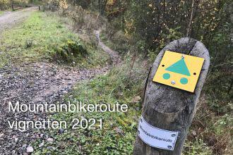 Welke mountainbike route vignetten zijn er in 2021?