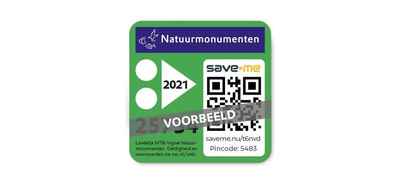 MTB Vignet Natuurmonumenten 2021