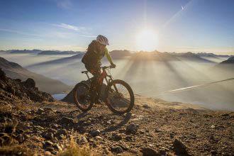 Spotcheck mountainbike | In Sankt Moritz met de meiden