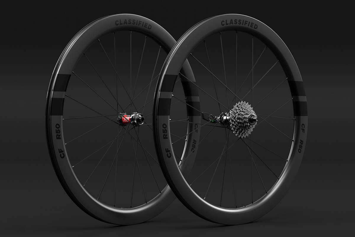 Classified wheelsystem CF R50