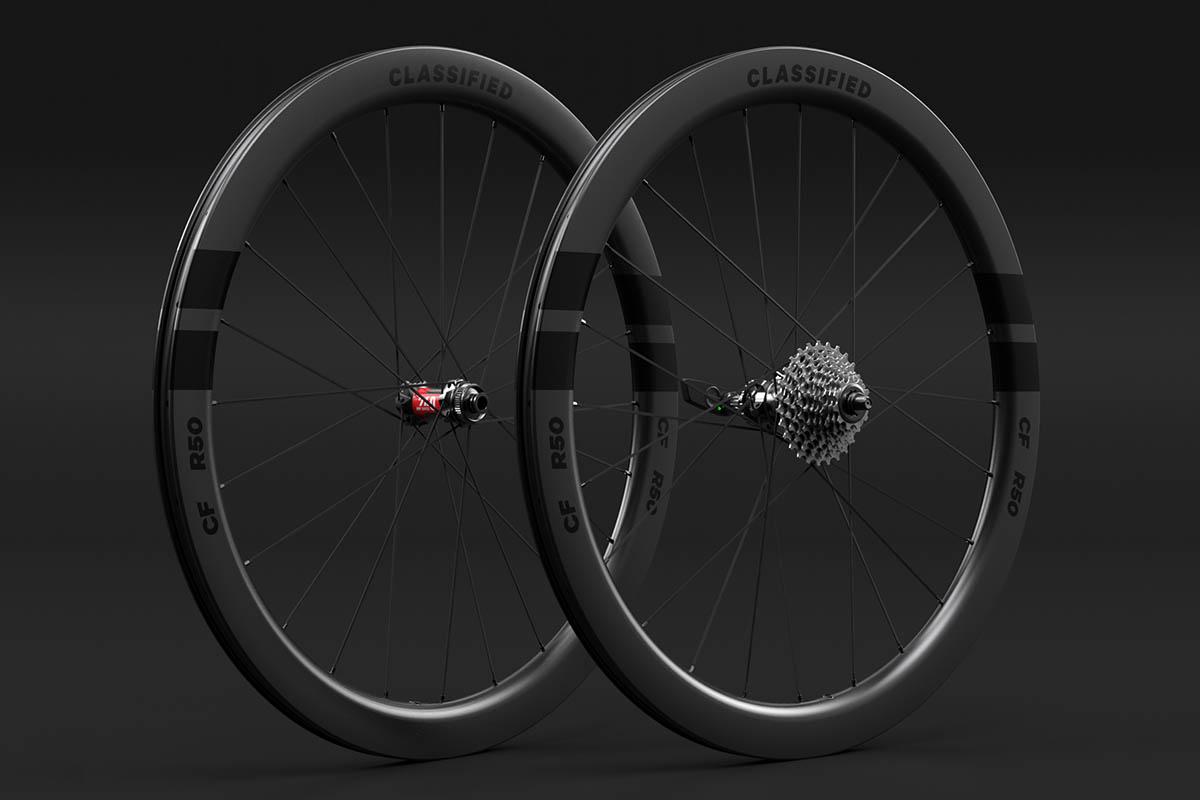 classified powershift gravelbike - Classified wheelsystem CF R50