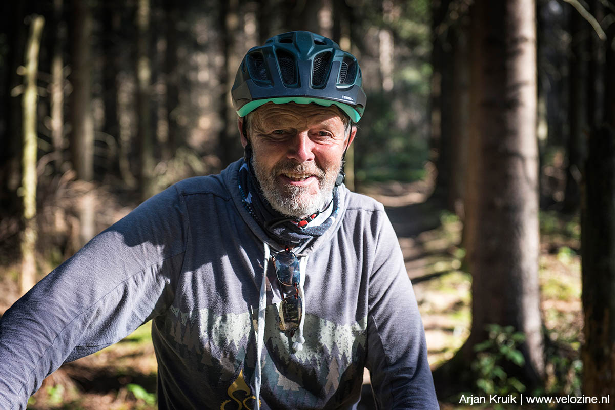 Lutz Heinrich is de godfather van het mountainbiken in en om Oberwiesental.