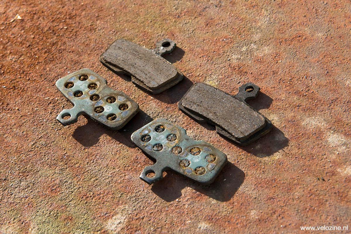 Galfer oude remblokken