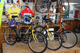 Merida toont eigen geschiedenis in het Mountainbike Museum