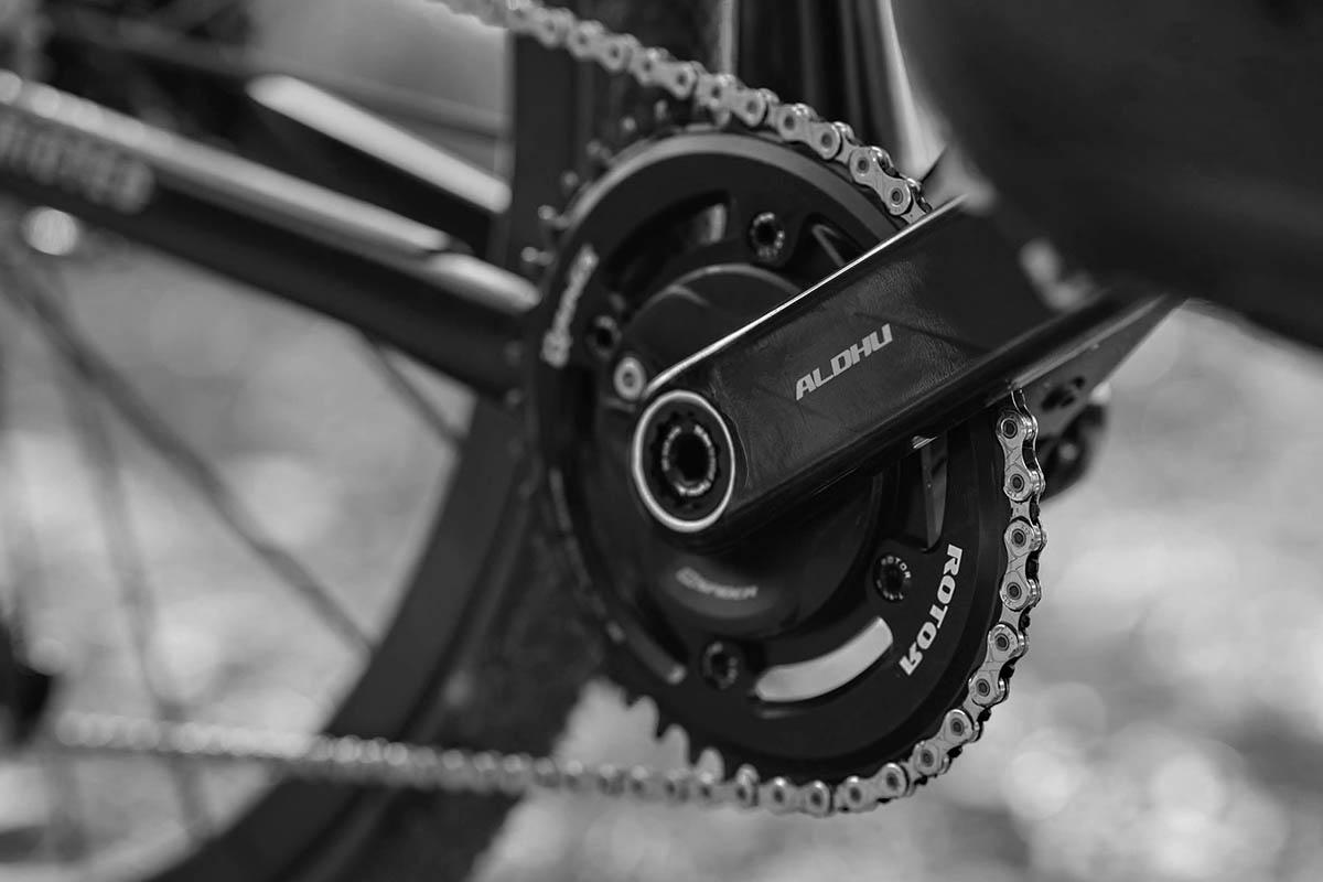 Het Spaanse Rotor introduceert carbon cranksets voor de racefiets en gravelbike