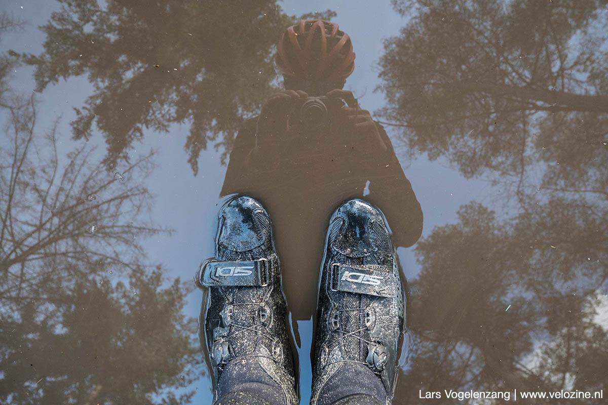 De schoenen vies