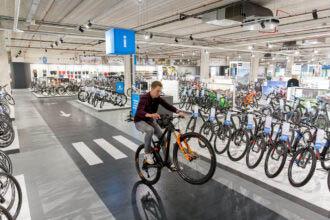 Fietsenwinkel Mantel opent deze zomer Superstore in Rotterdam