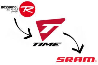 Sram neemt pedalentak van Time Sport over van Rossignol