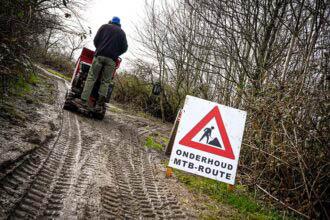 Mountainbikeroute Spaarnwoude: uitgebreid en vernieuwd