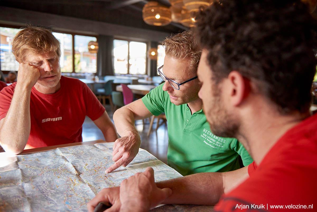 De gravelbike specialisten in de Alpen kennen echt ieder paadje in de omgeving van hun hotel.