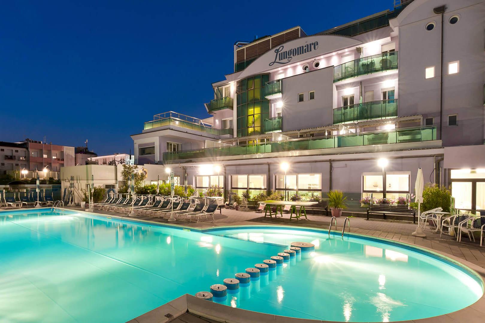Cesenatico Italië hotel Lungomare