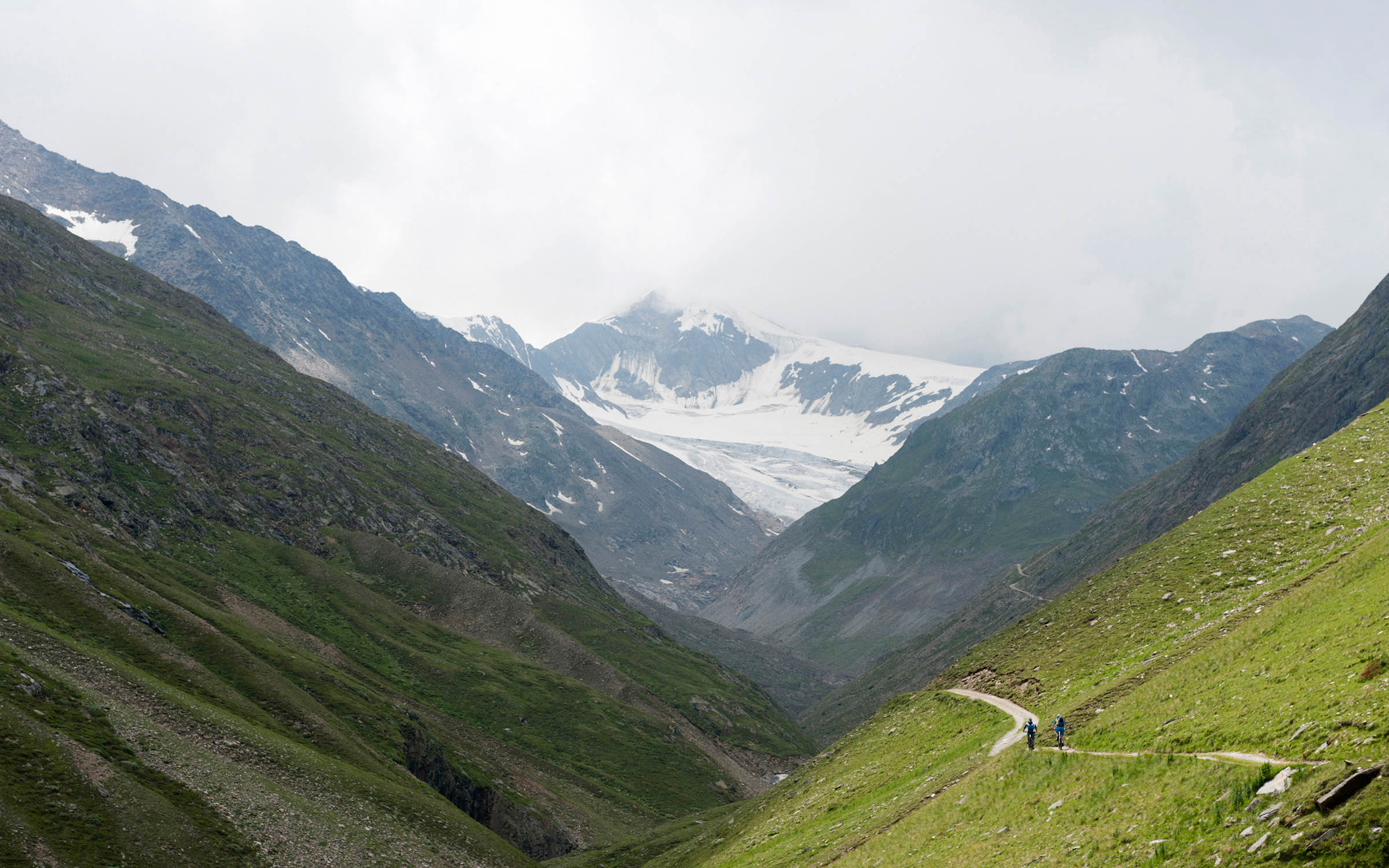 De Brennerkam rondom de Brennerpas is magistraal qua uitzicht