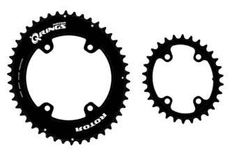 Rotor Q-Rings en ronde kettingbladen voor Shimano GRX en Sram AXS