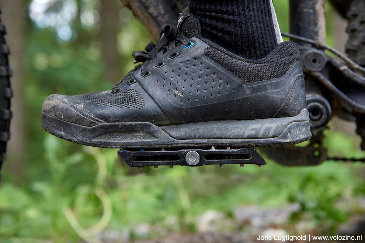 Superfeet inlegzool in flatpedal schoen