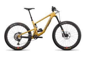Santa Cruz Bronson 2022 trailbike met mullet-setup