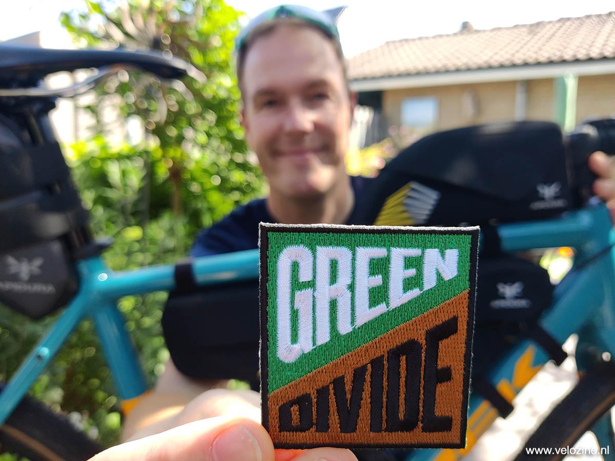 Green Divide Gravelroute – patch is binnen