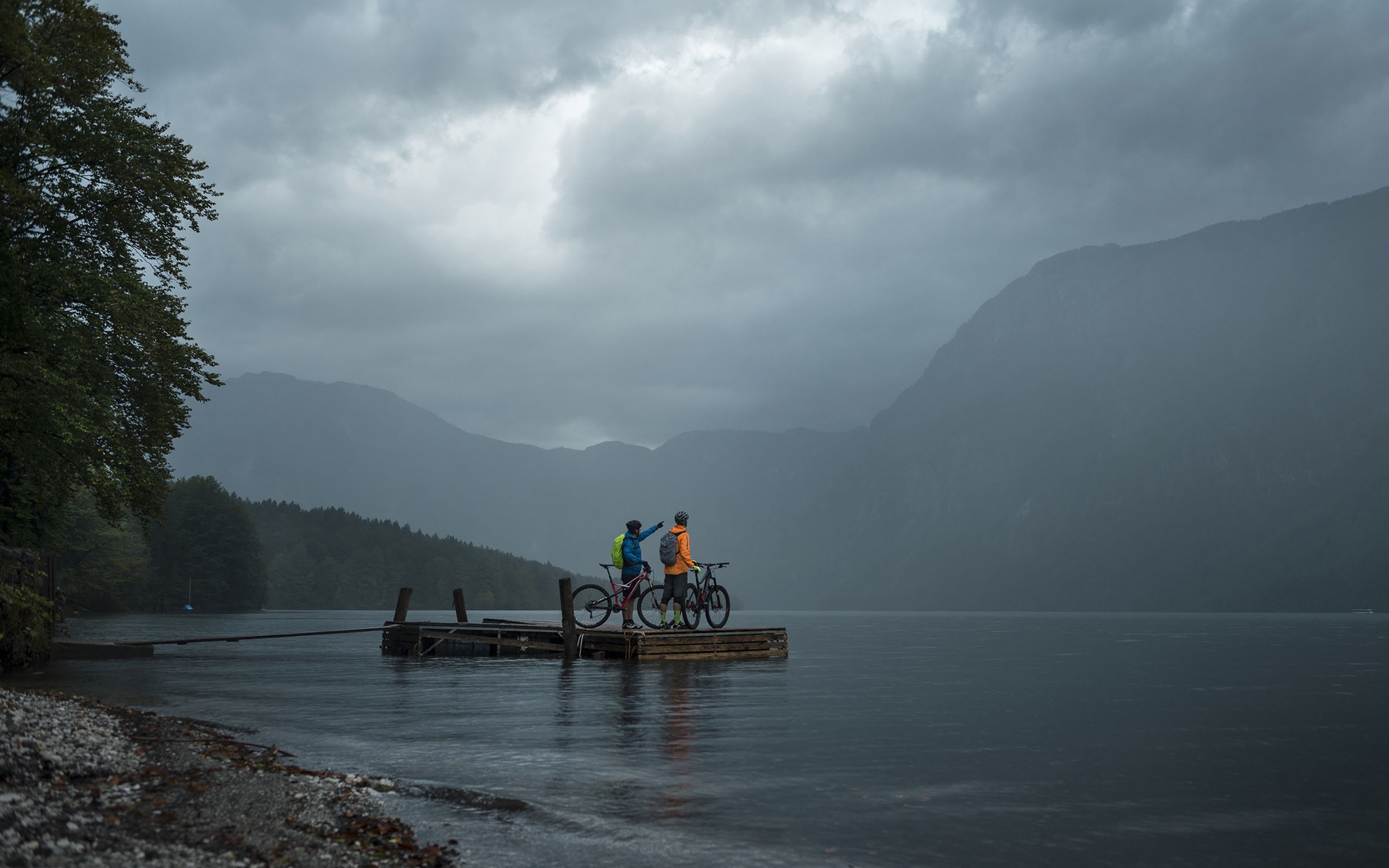 Slovenie mountainbike trail