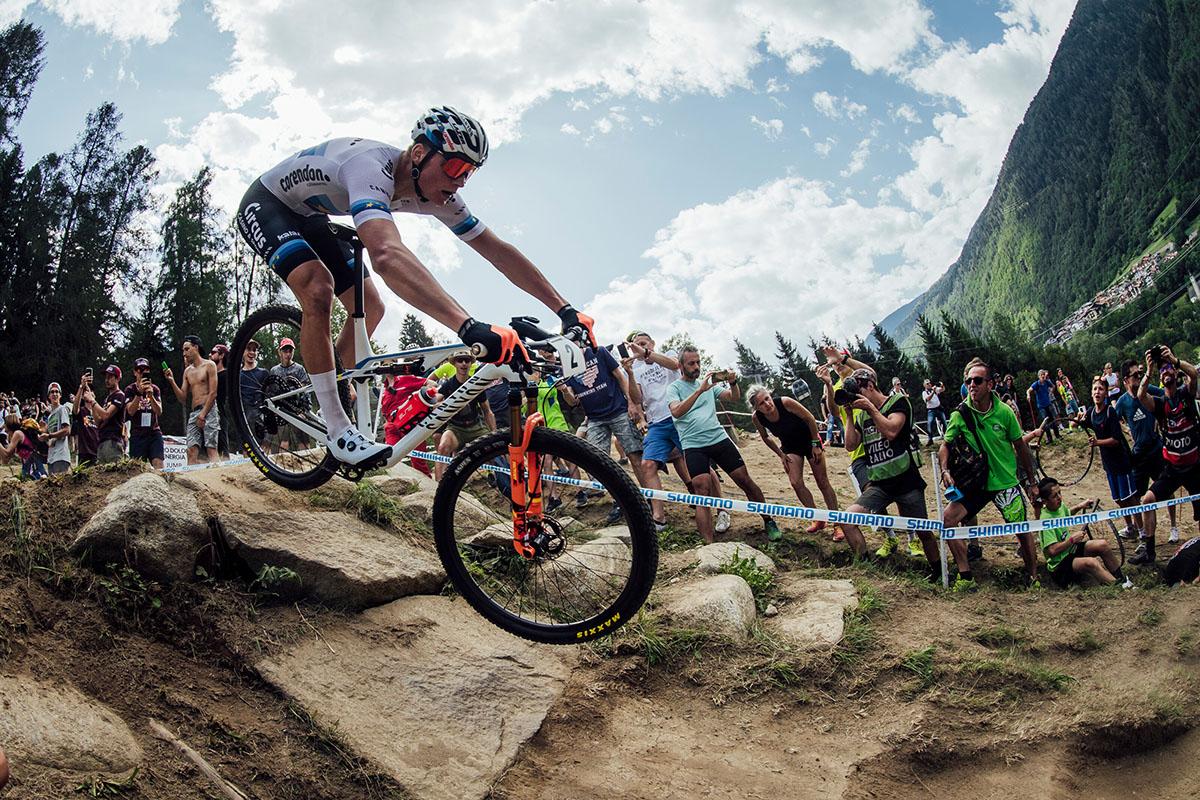 Mathieu van der Poel – Wereldkampioenschap mountainbike 2021 val di sole