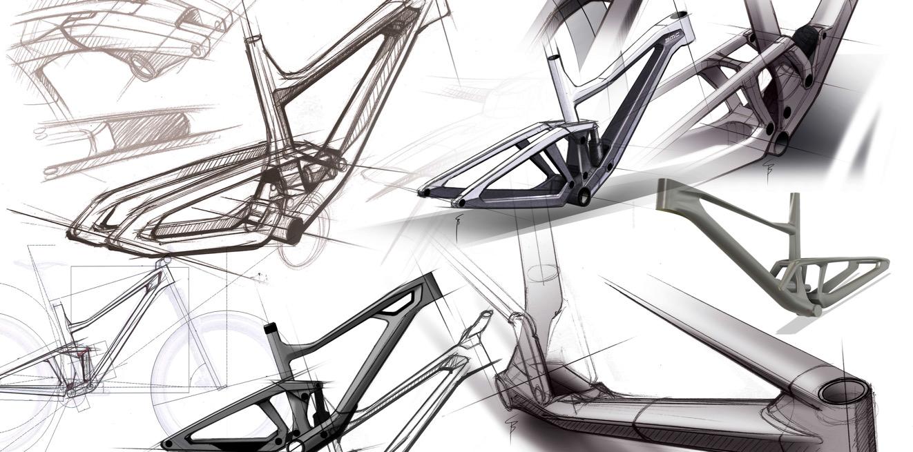 Scor 4060 design sketches